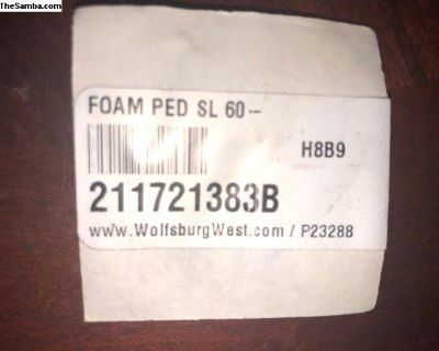 Brake And Clutch Pedal Sealing Pad