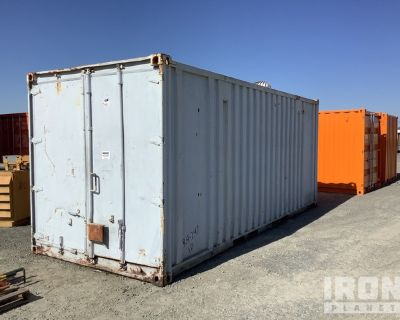 20 ft. Storage Container w/Fuel Tank