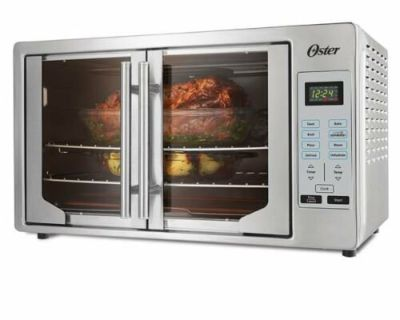 OSTER DIGITAL FRENCH DOOR TOASTER CONVECTION OVEN BROILER
