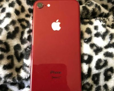 Unlocked AT&T Apple iPhone 8 64 GB red