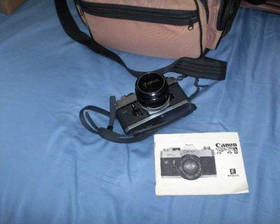 Canon FTB 35 MM Camera