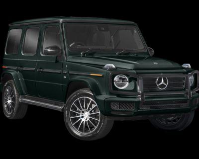 New 2021 Mercedes-Benz G-Class G 550 With Navigation