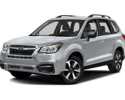 Pre-Owned 2018 Subaru Forester 2.5i AWD Sport Utility