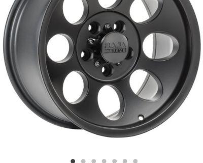 Virginia - Quadratec Baja Extreme 17x9 wheel $100
