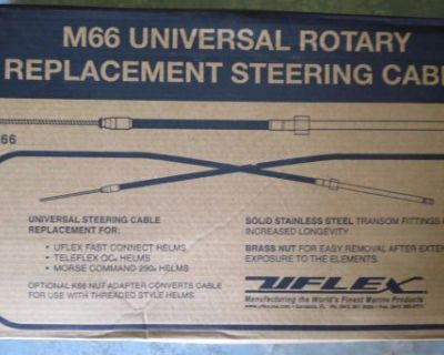 Uflex M66 17 Ft Universal (qc) Fast Connect Steering Cable #m66x17