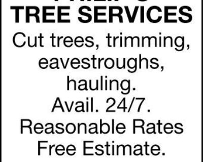 PHILIP'S TREE SERVICES Cut ...