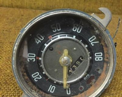 Clear needle speedometer
