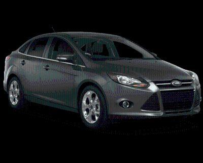 Pre-Owned 2014 Ford Focus SE FWD 4D Sedan