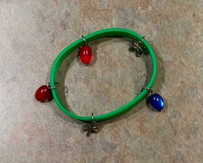 Silicone Bracelet with charms