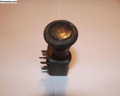 VW 411 Headlight Switch