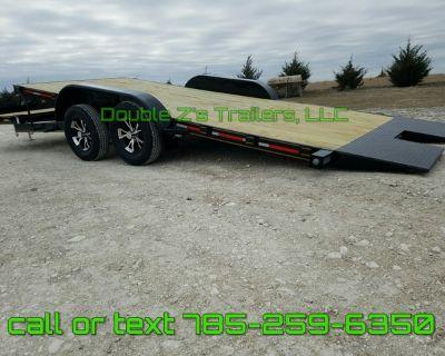 2021 Car trailer 20' and 22' lengths Tilt brand new!!