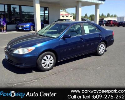 Used 2002 Toyota Camry 4dr Sdn LE Auto (Natl)