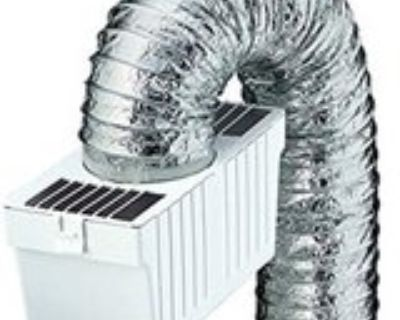 New lint trap kit with metallic duct FOR ELECTRIC not gas dryers WILL SHIP