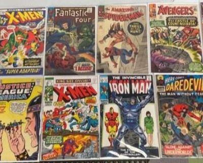 Lifetime Comic Books Collection Online Auction - Part 2