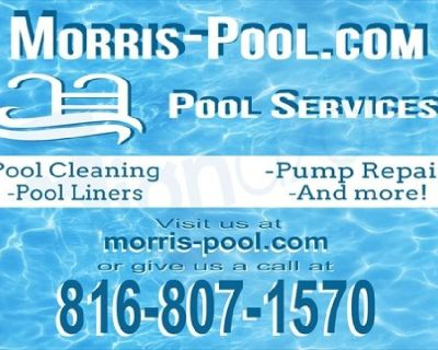 Open your Pool right with good Commercial cleaning. http://morris-pool  Morris Pool 816-807-157O