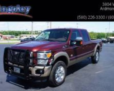 "2013 Ford Super Duty F-250 King Ranch Crew Cab 156"" 4WD"