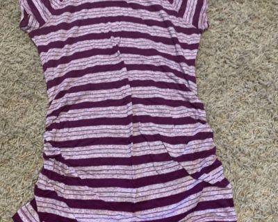Maternity short sleeve shirt XS