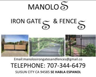 Manolos Iron Gates and Fences.