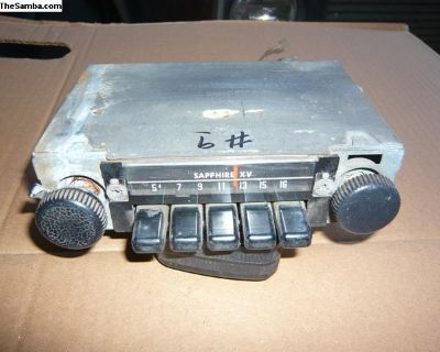 bug, ghia, bus and type 3 radio #9 M-B2