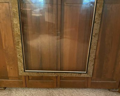 Large Cork Picture Frame with Glass