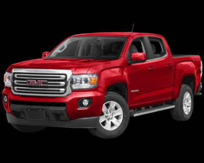 Pre-Owned 2017 GMC Canyon SLE1 4WD 4D Crew Cab