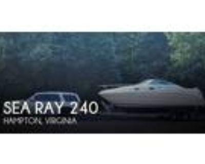 24 foot Sea Ray 240 Sundancer