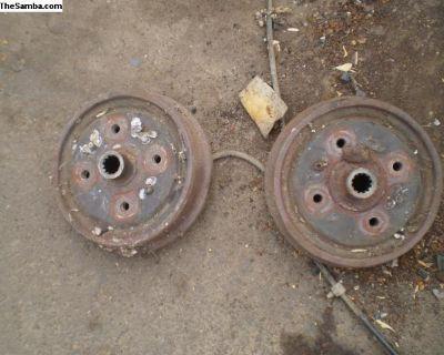 Type3 rear brakes complete 4 lug