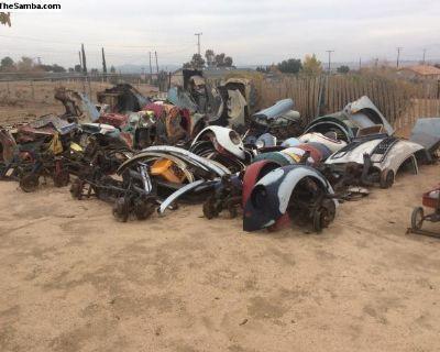 VW parts. Bug, Ghia, Type 3