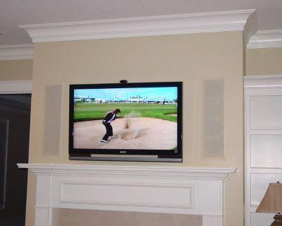 Any Size TV Installed Any Wall $62