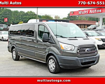 Used 2015 Ford Transit 350 Wagon Low Roof XL w/Sliding Pass. 148-in. WB