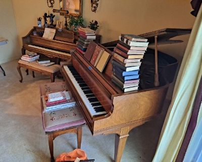 60 year accumulation, music, pianos and more