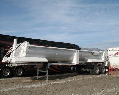 2003 Western Construction Components End Dump Trailer