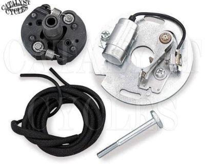 Harley Mechanical Advance Ignition Kit On Harley Condenser & Points For Harley