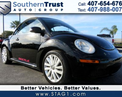 Used 2008 Volkswagen New Beetle Convertible 2dr Auto SE