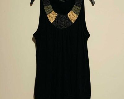 Black casual blouse
