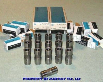 Gm Hipo Tappets All Gm 153-348_409_427 In '74-55 Nos