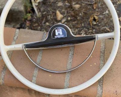 1959 lowlight ghia complete steering wheel