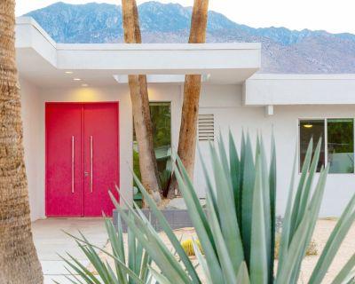 The Pink Door of Little Beverly Hills - as seen on HGTV / Desert Flippers - Araby