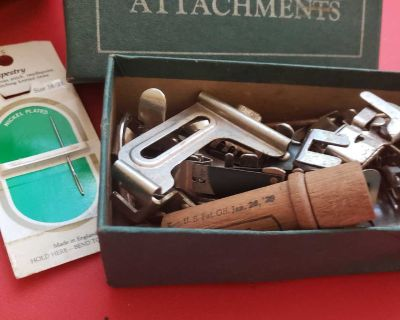 Rotary attachments sewing machine