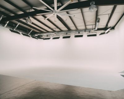 Production Studio Space for Filming & Photography with Cyclorama, Atlanta, GA