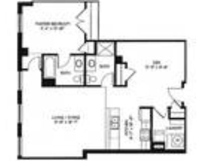 Miller and Rhoads Residences - 1 Bed 2 Bath