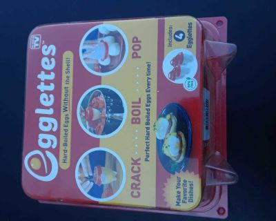 Egglettes as seen on TV. Brand New!