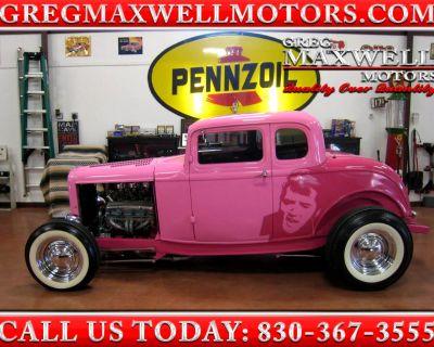 1932 Ford Coupe 5 Window Custom