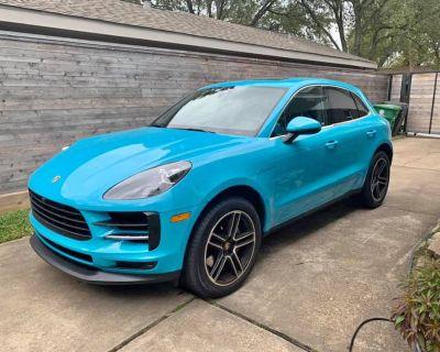 2019 Porsche Macan S - Miami Blue, 4600 miles
