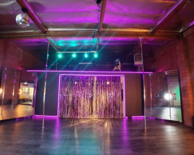 Multi Use Artistic Space: Pole, Aerial, Dance Floor, Paint, Film & More, Alhambra, CA