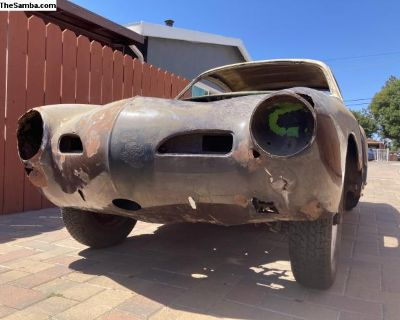 1964 Ghia coupe project