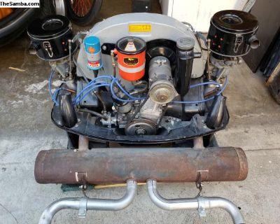 Porsche 356 engine 1964 motor NEW 0 miles