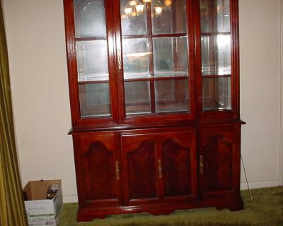50+ years old China Cabinet