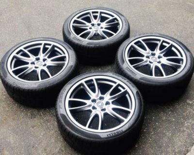 "New!! $2500+ Set Of 4 Oem 2014 Roush Ford Mustang 19x9 19"" Rims & Tires Pirelli"