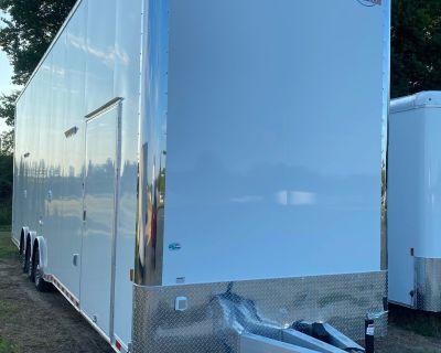 2022 34' Aluminum Stacker Trailer
